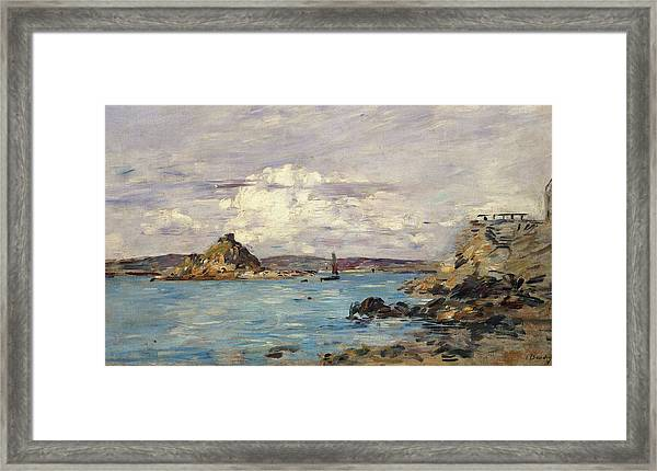 Study For The Bay Of Douarnenez Framed Print