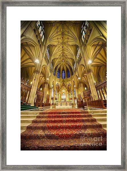 Stunning St Patricks I Framed Print