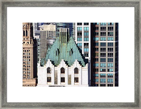 Style And Structure 3 Framed Print