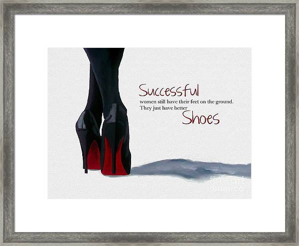 Successful Woman Framed Print