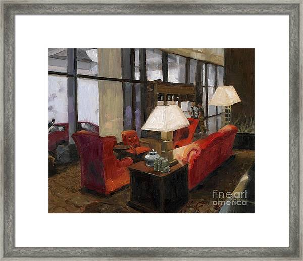 Such A Lovely Place Framed Print