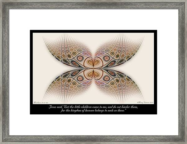 Such As These Framed Print