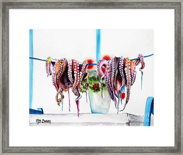 Suckers Framed Print