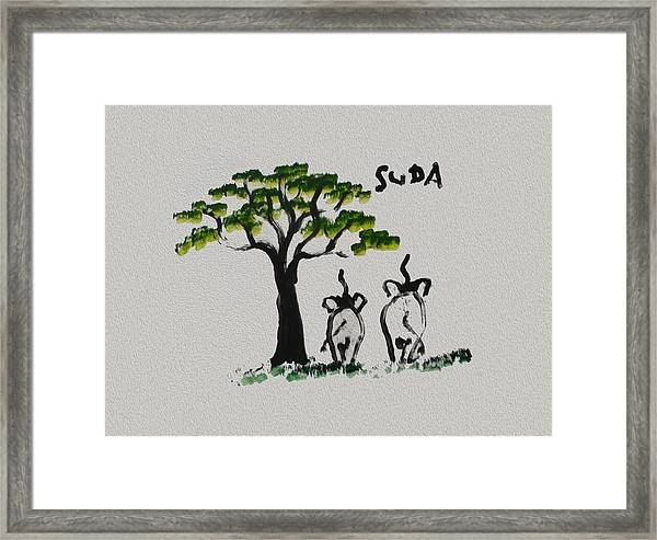 Suda Creations  Framed Print