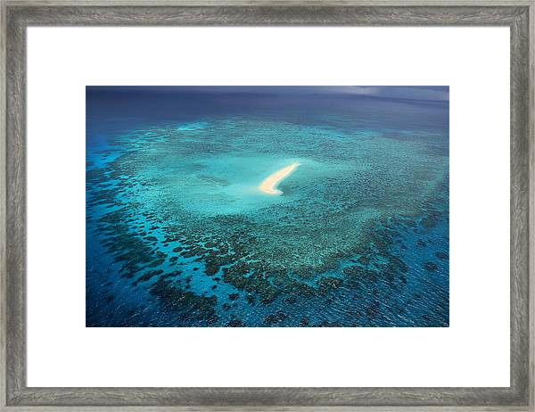 Framed Print featuring the photograph Sudbury Cay by Debbie Cundy