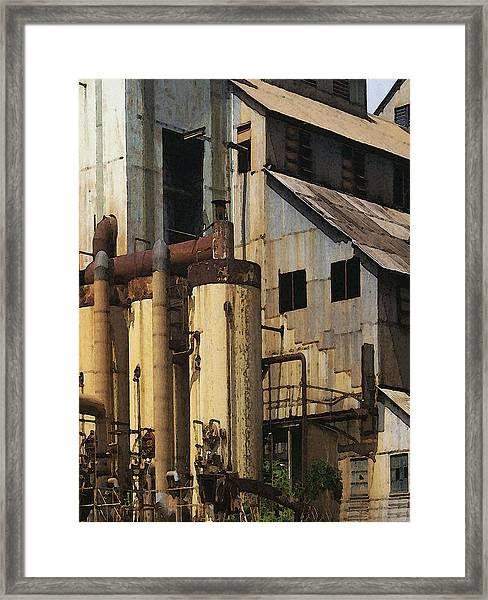 Sugar Factory Framed Print