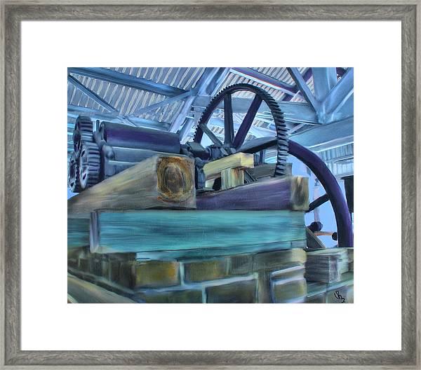 Sugar Mill Gizmo Framed Print