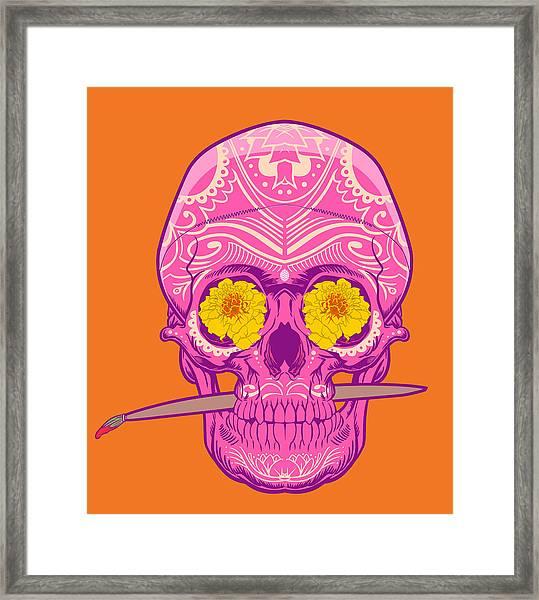 Sugar Skull 2 Framed Print