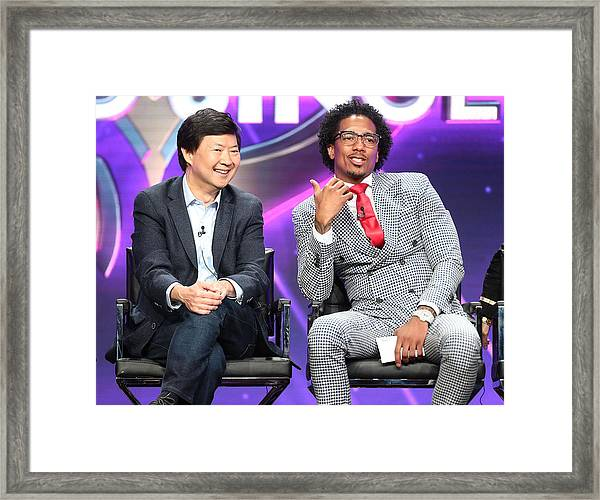 Summer 2018 Tca Press Tour - Day 9 Framed Print by Frederick M. Brown