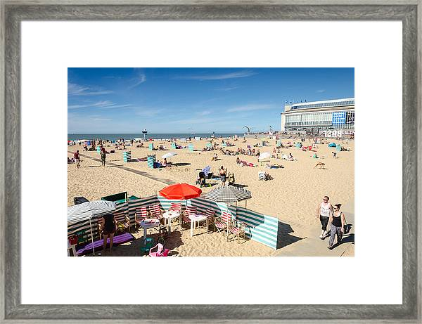 Summer Beach Framed Print