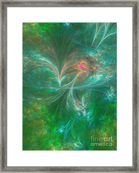 Summer Breeze Framed Print by Gaby Tench