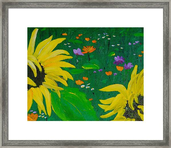 Summer Dance Framed Print