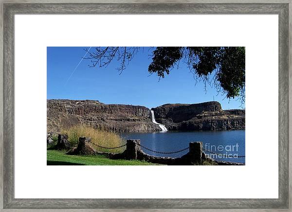 Summer Falls - 2 Framed Print