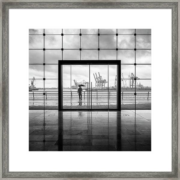 Summer In Hamburg Framed Print