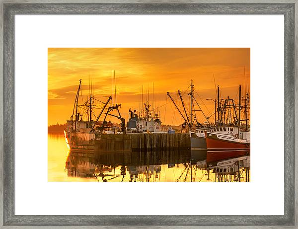 Framed Print featuring the photograph Summer Nights by Garvin Hunter