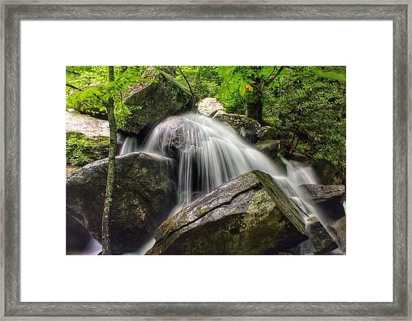 Summer On The Rocks Framed Print