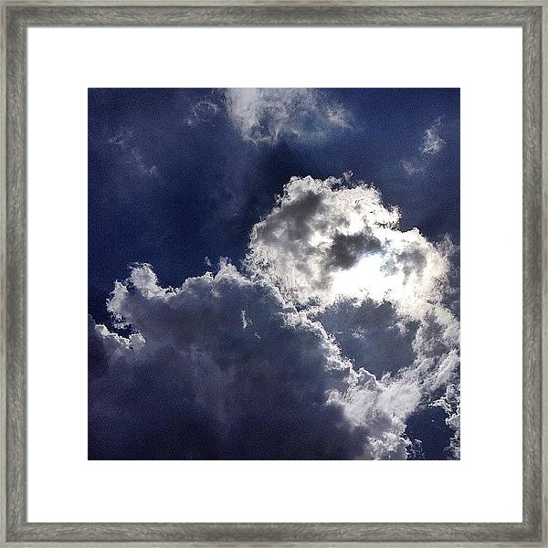 Summer Sky  Framed Print