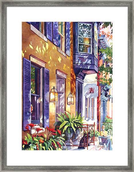 Summer Tea Framed Print