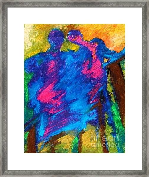 Summershadow Framed Print