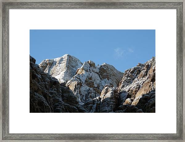Summits Reach Framed Print