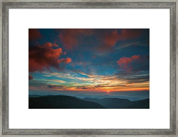 Sun Dance Framed Print