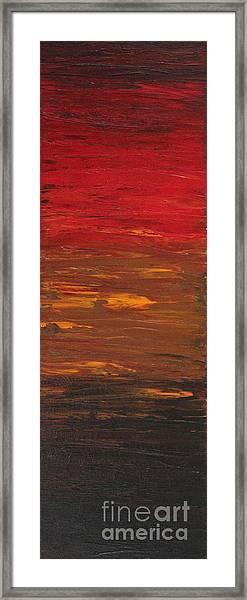 Sun Shade 3 Framed Print