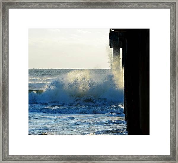 Sun Splash II Framed Print