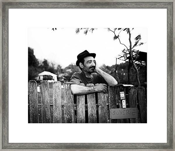 Sunday A Day Off Framed Print
