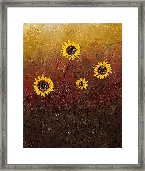 Sunflowers 3 Framed Print