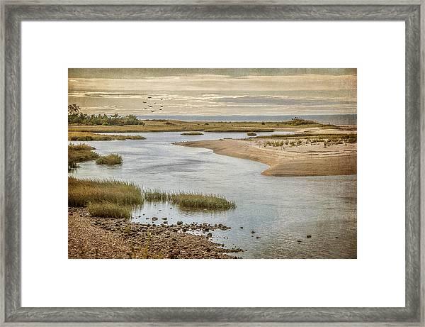 Sunken Meadow Framed Print