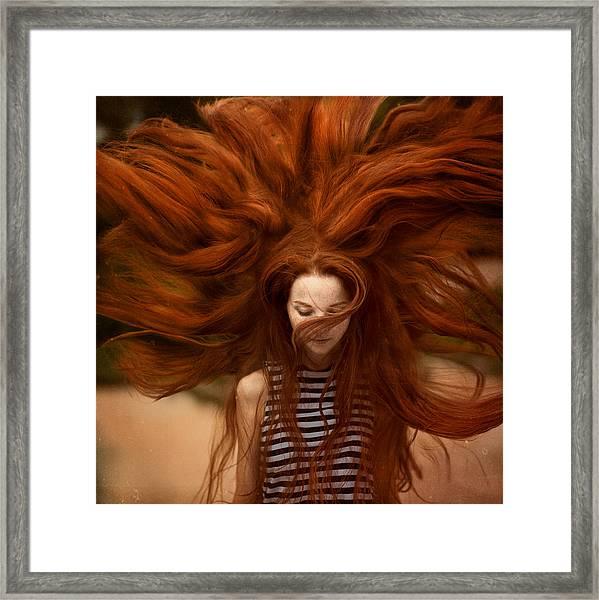 sunny Katia Framed Print