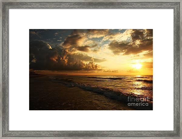 Sunrise - Rich Beauty Framed Print