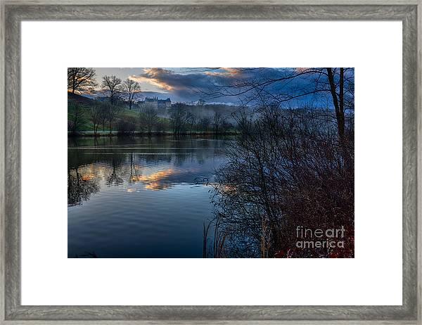 Sunrise At  Biltmore Estate Framed Print