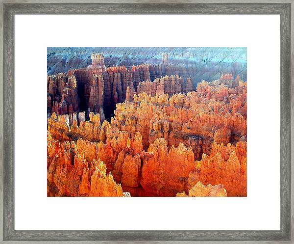 Sunrise At Bryce Canyon Framed Print