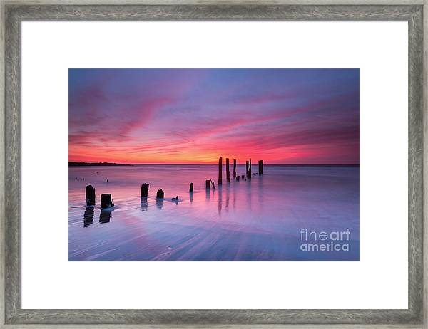 Sunrise At Deal Nj Framed Print