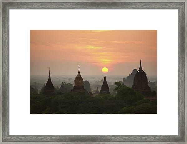 Sunrise Bagan II Framed Print