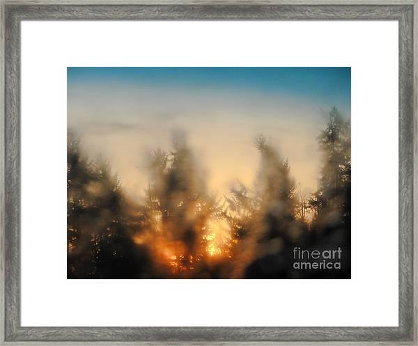 Sunrise Dream Framed Print