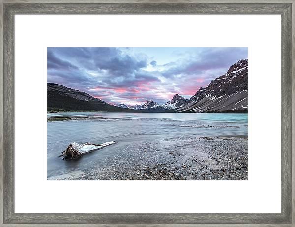 Sunrise Glow Framed Print