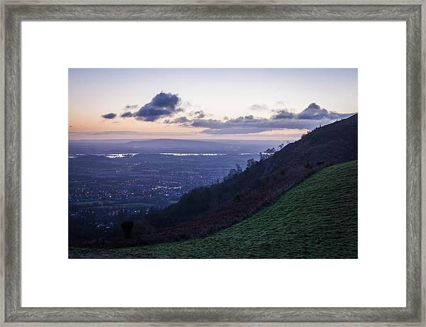 Sunrise In The Severn Valley Framed Print