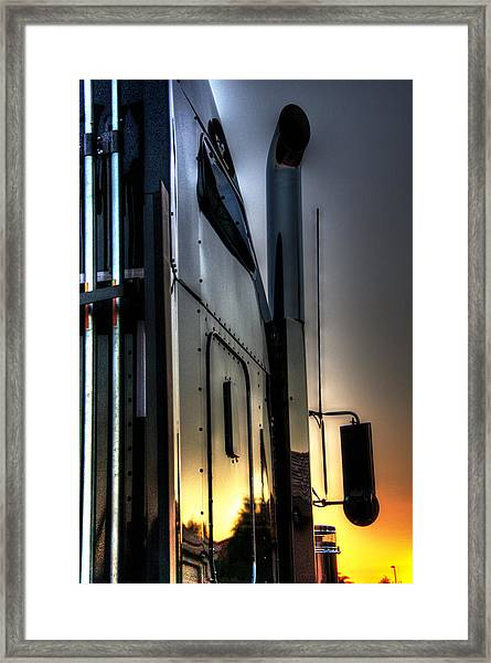 Sunrise K W 34748 Framed Print