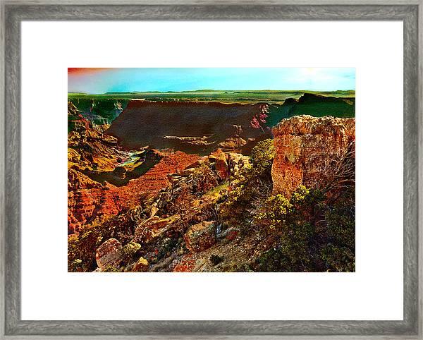 Sunrise Lipan Point Grand Canyon Framed Print