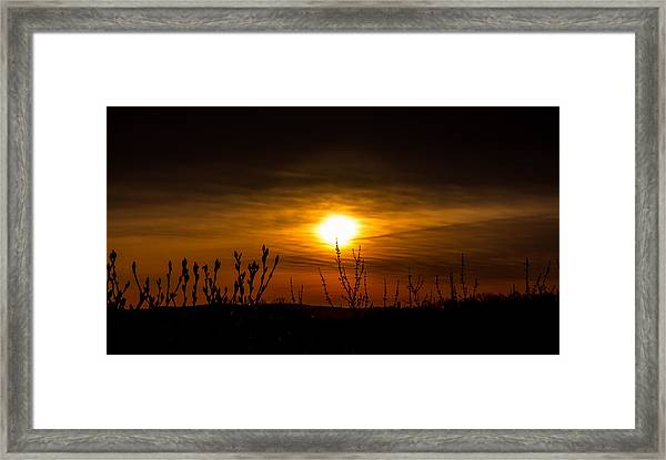 Daybreak At Gettysburg Framed Print