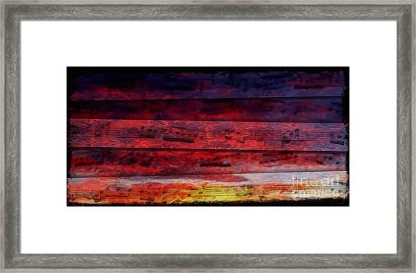 Sunrise Quintet Framed Print