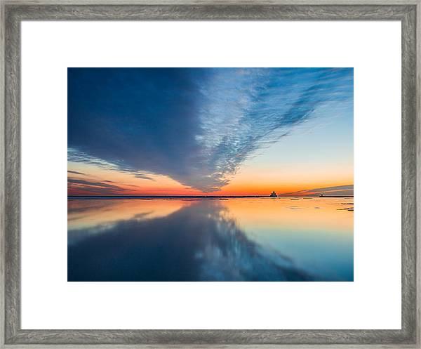Sunrise V Framed Print