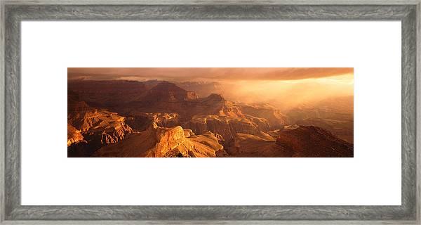 Sunrise View From Hopi Point Grand Framed Print