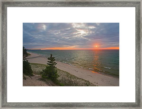 Sunset At Beaver Creek Framed Print