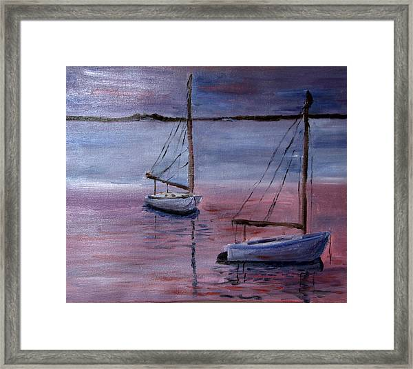 Sunset At Pleasant Bay Framed Print