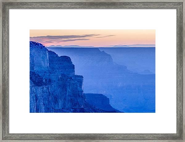 Sunset At The South Rim Framed Print