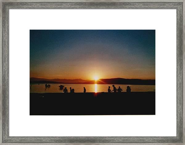 Sunset Boulevard Framed Print