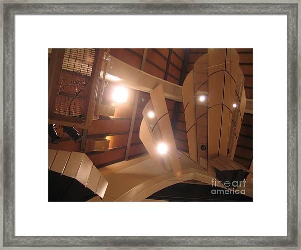 Sunset Center Ceiling Framed Print